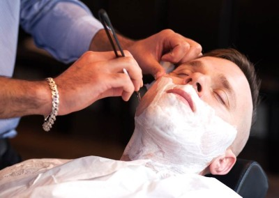 cut throat razor shave