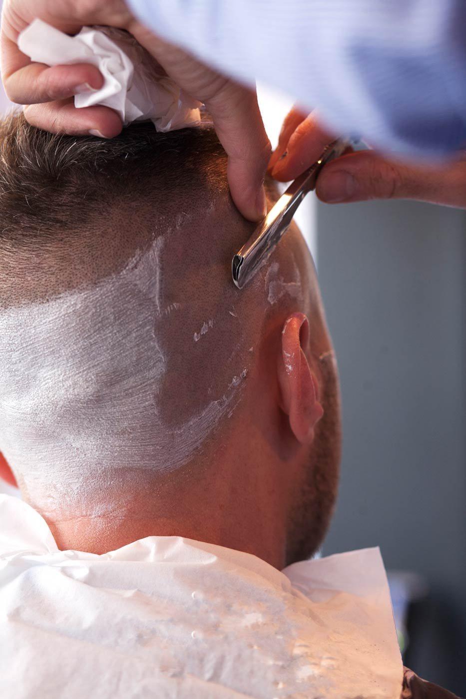 Photographs Of Haircut Cut Throat Razor Shave Amp Beard Trim